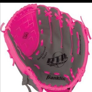 Franklin ready to play pink glove